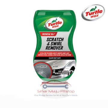 Turtle Wax Renew Rx Scratch & Swirl Remover 325ml MADE IN USA Original