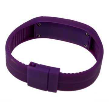TVG Pedometer LED - Silicone - Rubber Watch (Jam Tangan LED - Silikon)