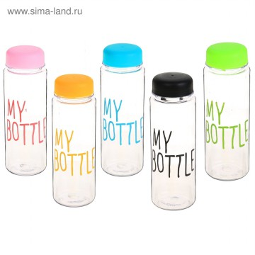 MY BOTTLE INFUSED WATER WITH POUCH - BOTOL MINUM DENGAN TAS