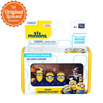 MINION - Mini Minion Playset - Gone Batty Minions