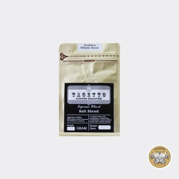 Espresso Bali Blend 1KG Tagetto Coffee - Kopi 80% Arabica 20% Robusta