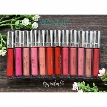 ORIGINAL Wardah Lip Cream Exclusive Matte Cair Lipcream