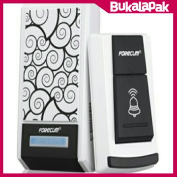 Forecum Digital Wireless Remote Alarm Doorbell LED 36 Tunes - Bel Rumah