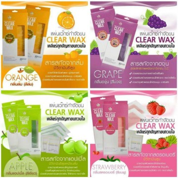 CLEAR WAX ALL WAX 4 IN 1 WAXING PENGHILANG BULU ORIGINAL THAILAND BEST SELLER