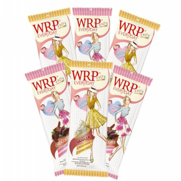 WRP Low Fat Milk Chocolate & Vanilla 6pcs x 60 gr