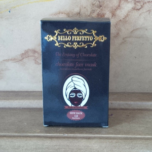MASKER COKLAT BELLO PERFETTO NEW PACK 12 SACHET