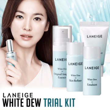 [Laneige] White Dew Trial Kit (4 items)