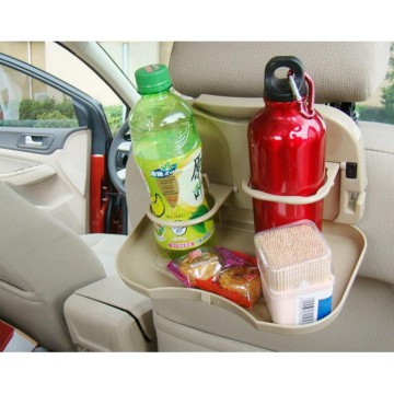 HHM023 - Meja Portable Mobil / Bottle Can Holder Car Travel Dining Tray