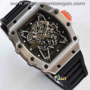 Richard Mille RM035-01 Skeleton Automatic Rubber Strap_KW Super AAA