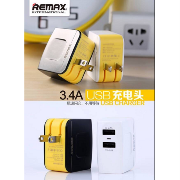 Charger Remax 3.4a(2usb Output)
