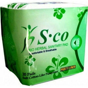 PAKET PEMBALUT HERBAL SCO (DAY USE, NIGHT USE DAN PANTYLINER)