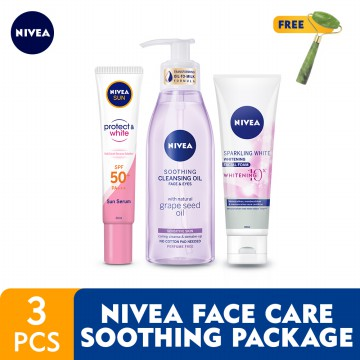 NIVEA Face Care Soothing Package