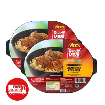 Fiesta Paket Chicken Curry With Noodle Makanan Instan 300 G (6 Pcs) MOHON SEGERA DIKONSUMSI