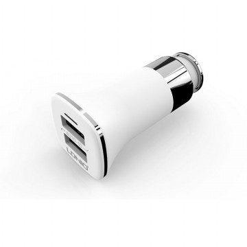 Car Charger LDNIO Output 3.6A Dual USB Port Auto ID