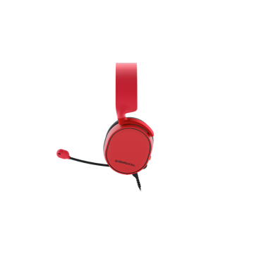 steelseries Arctis 3 Gaming Headset Headphone Gamers SOLAR RED - 61435