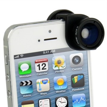 Lesung Fisheye 3 in 1 Photo Lens Quick Change Camera for iPhone 5