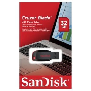 [SANDISK] USB Flash disk 32GB - CZ50 Flash Drive Cruzer Blade - FlashDisk / FlashDrive USB 2.0