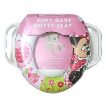 RING KLOSET HANDEL ANAK BABY POTTY SEAT MINNIE BUSA DUDUKAN TOILET