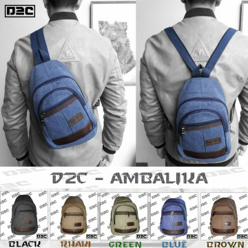 Fashion Import Bag D2C SLINGBAG BACKPACK TRAVEL BAG TAS PRIA COWOK