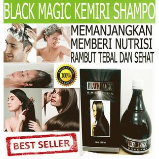 BLACK MAGIC KEMIRI SHAMPOO KEMASAN LAMA - BMKS