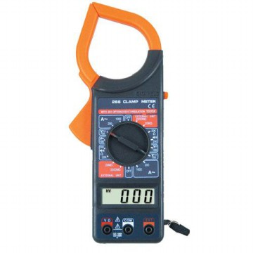 Digital Clamp Multimeter - M266 - Black