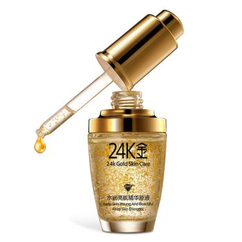 BIOAQUA 24K GOLD ESSENCE FACE ANTI AGING | SERUM WAJAH EMAS 24K (30ml)