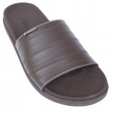 Neckermann Sandal Pria Hando 195 Dark Brown