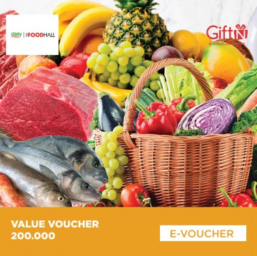 THE FOODHALL - Value Voucher 200.000