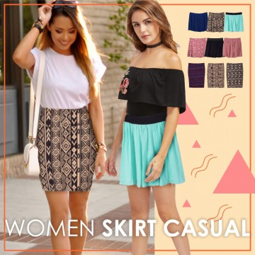 New Collection! Branded Women Skirt/Banyak Pilihan Warna/Limited Stock/Good Quality/Rok Wanita /Rok Kerja