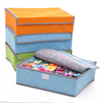 Kotak Tempat Penyimpanan Panty and Socks Underwear storage 24 Slots