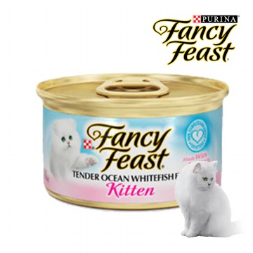 FANCY FEAST KITTEN OCEAN WHITEFISH 85gr x6pcs