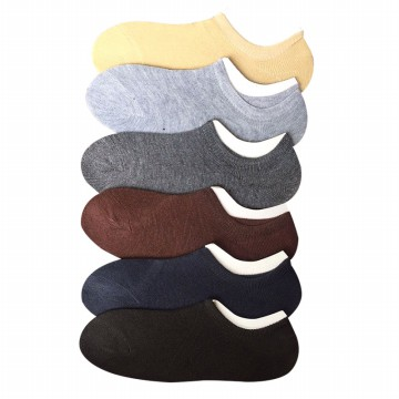 Invisible Socks - 6 pilihan warna