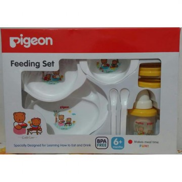 Pigeon Feeding Set Training Cup Baby