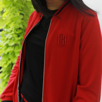 Red Boomber Jacket Blc List