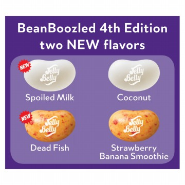 Bean Boozled - Refill 4th Edition &  Harry Potter Special Limited Edition