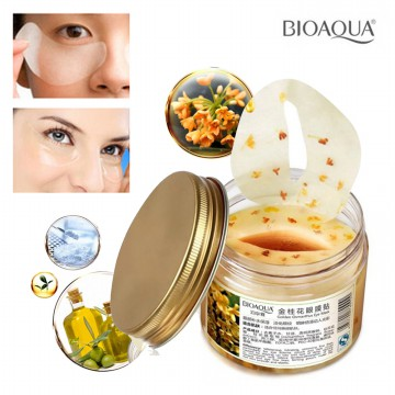 [isi 80pcs/40 pasang] BIOAQUA Golden Osmanthus Eye Mask/ Masker Mata