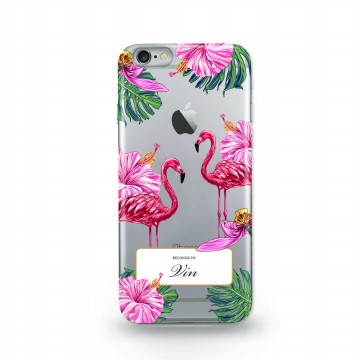 Flaminggo Bird Custom Case For Iphone / Bahan Jelly Case / TPU
