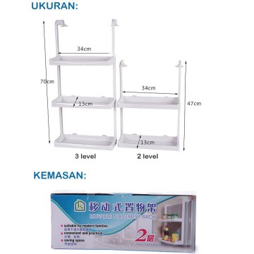 Movable Placement Rack ( Rak tempel serbaguna )