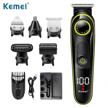 Kemei Alat Cukur Elektrik 5 in 1 Hair Trimmer Shaver - KM-696