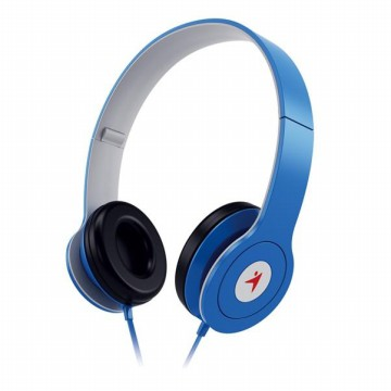 GENIUS FOLDABLE ON EAR HEADPHONE HS-M450 BLUE - 31710200103