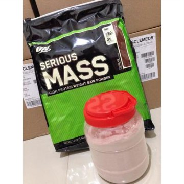 SERIOUS MASS GAINER ECERAN / 2 LBS SERIOUSMASS ON GAIN MASS