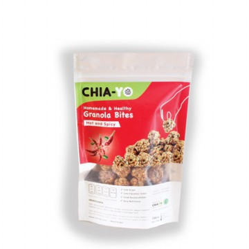 CHIAYO Granola Bites Hot and Spicy