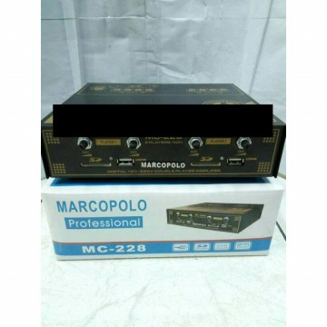 marcopolo mc ampli walet 2 player 4 channel