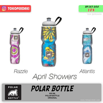 POLAR Bottle Water Insulated Motif Botol Air Minum Dingin Tahan Lama 600 ml