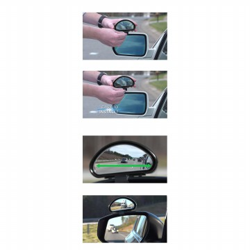 KACA SPION MOBIL UNIVERSAL - CLEAR ZONE BLIND SPOT MIRROR