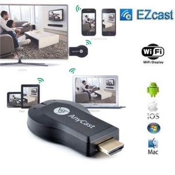 ANYCAST Ezcast HDMI Dongle Miracast Mirroring DLNA Airplay Wifi Display Receiver Smart Projector