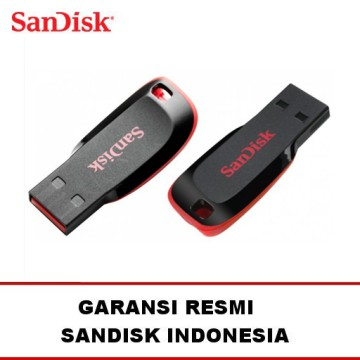 SANDISK Flash Disk / Drive 8GB Cruzer ( Blade / Switch / Edge ) Flashdisk 8 GB