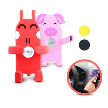 Car Phone Holder Kartun Vent Holder Kartun Holder AC Mobil Karakter