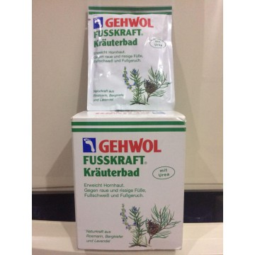 Gehwol Fusskraft Krauterbad Herbal Bath 1 Box 10 Sachet