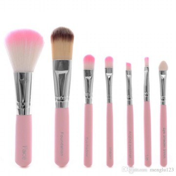 [7 in 1] HELLO KITTY Makeup Brush Set
